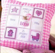 Belle idée pour célébrer la naissance de bébé.