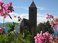 St. Katrein Kirchlein in Hafling bei Meran Südtirol
