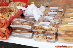 how to sell baked goods at farmers market