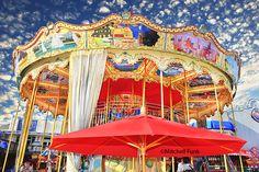 PIer 39 Carousel,  San Francisco By Mitchell Funk  www.mitchellfunk.com