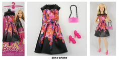 2014 Barbie Complete Look Fashion Packs Look Fashion, Fashion 2014, Fashion Outfits, Complete Outfits, Barbie Dolls, Summer Dresses, Toys, Flowy Summer Dresses, Fashion Suits