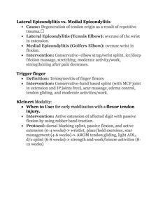 NBCOT UE & Hip Review Page 3