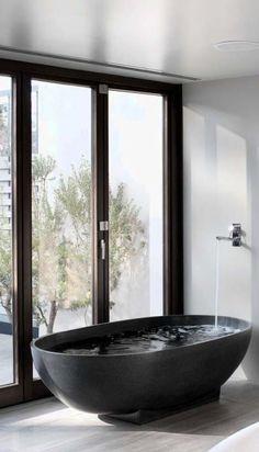 own your morning // bathroom // urban life // city suite // urban loft // interior // bathroom // home decor // urn am men // luxury life //