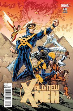All-New X-Men #9 Lashley Connecting C Variant (2016)