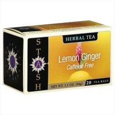Stash Tea Herbal Tea Caffeine Free Lemon Ginger Tea Bags 20 Bg Pack Of 6 Review Buy Now