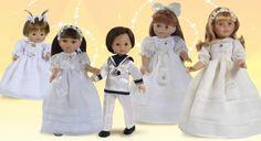 Muñecas de comunión Paola Reina. Vestidos de comunión preciosos para todas las colecciones, también muñecos de comunión. #comunion #comuniones #muñecas #dolls