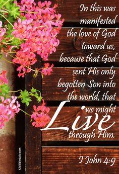 Life in Jesus Bible Verses Kjv, Biblical Verses, Favorite Bible Verses, Bible Verses Quotes, Jesus Quotes, Scripture Art, Christian Quotes, Christian Faith, Lord And Savior