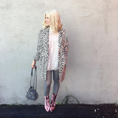 Leopard and lace and ladylike layers — what's not to love?!