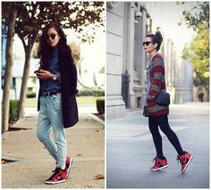 THE TALL N SHORT | Hong Kong Fashion & Lifestyle Blogger: SHOES | Nike Dunk Sky Hi Sneakers Nike Shoes Girls Kids, All Nike Shoes, Black Nike Shoes, Slider Buns, Nike Outfits, Black Eyed Peas, Nike Dunks, Daily Fashion, High Fashion