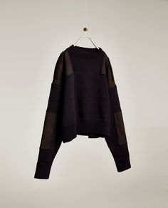 Image 6 of SWEATER WITH SHOULDER TABS from Zara