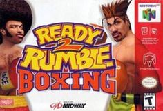 Title: Ready 2 Rumble Boxing (Nintendo 64, 1999) UPC: 031719198313 Condition: Very Good - Pre-owned. Included: Cartridge only. Tested and in good condition. Cartridge Sold as pictured. Shipping: Order