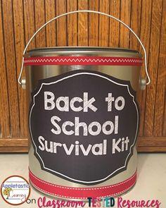 DIY Back to School Survival Kit for Teachers
