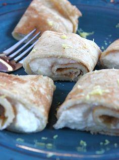 Norwegian pancakes(pannekaker) - my bestemor has the BEST recipe for this!