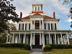 Kendall Manor in historical Eufaula Alabama