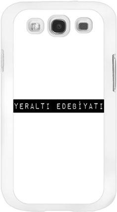 Yeraltı Edebiyatı Kendin Tasarla - Samsung Galaxy S3 Kılıfları