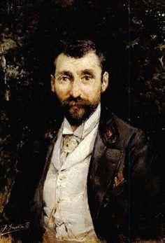 Retrato de un caballero. 1890