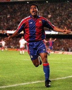Romario, Former striker FC Barcelona, the best