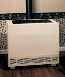 Empire Closed Front Gas Room Heater with Blower - Propane Beige Cabinets, Air Conditioning Installation, Combustion Chamber, Ignition System, Radiant Heat, Empire, Things To Come, Thing 1, Home Appliances