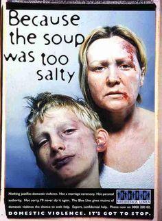 "Domestic Violence Helpline: ""SOUP"" Print Ad by Ammirati Puris Lintas ..."