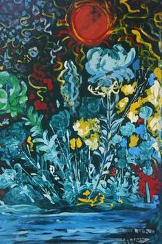 "Saatchi Art Artist Roberto Corso; Painting, ""Fiori"" #art"