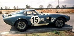 Shelby Cobra Daytona Coupe at Sebring 1965 by Nigel Smuckatelli,