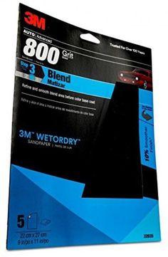 3M 32035 Imperial Wetordry 9 x 11 P800 Grit Sheet #3M
