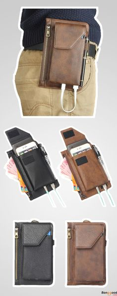 Multi-functional Waist Phone Bag. 2 Colors Optional. 40% OFF.