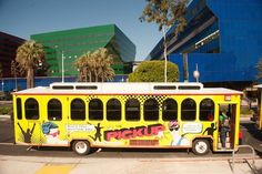 West Hollywood's PickUp trolley