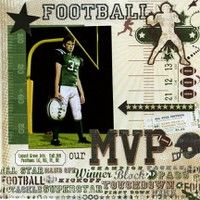 Gallery Projects - Scrapbooking - Sports - Two Peas in a Bucket