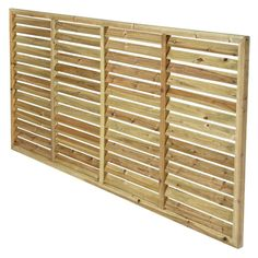 Timber ACQ Treated Pine Horizontal Louvre Screen 180cm Wide 90cm High / $53 / Masters Home Improvement