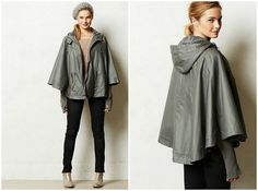 Who knew ponchos could be so stylish?