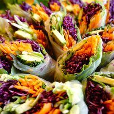 Vietnamesiska spring rolls