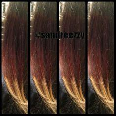 Red.. copper. . To blonde #sandreezzy #hairninja #salon2324