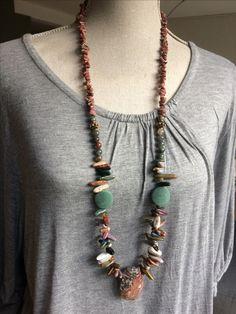 Beautiful Necklace made of beautiful beads.