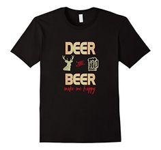 Men's Deer and Beer Make Me Happy Hunting T-Shirt  3XL Bl... https://www.amazon.com/dp/B01LWOK8I5/ref=cm_sw_r_pi_dp_x_xfopybFK6E2PZ