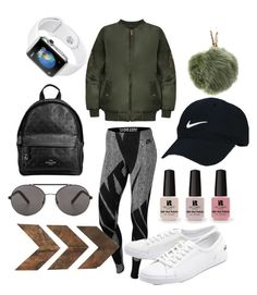 """""""Jogging not Jogging"""" by kaulian ❤ liked on Polyvore featuring WearAll, Coach, Seafolly, Nike Golf, NIKE, Furla, WALL, Lacoste and Victoria's Secret"""
