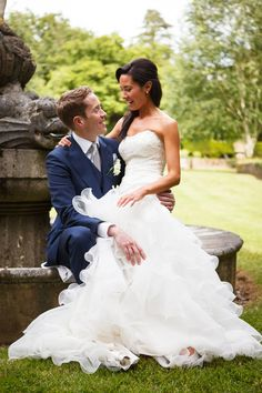 Pete Barnes - Ritva Westenius Wedding Gown For A Classic Wedding At Brocket Hall With Images By Pete Barnes Photography
