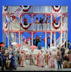 """A scene from Lyric Opera of Chicago's """"Show Boat"""", directed by Francesca Zambello. (photo credit: Robert Kusel)"""