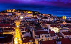 """Check out this travel story I found using Lisbon: """"Fine Pastries and Fado Music rule the night in Lisbon"""" Spain And Portugal, Portugal Travel, Lisbon Portugal, Portugal Trip, Architecture Wallpaper, City Wallpaper, World Cities, Homeland, San Francisco Skyline"""
