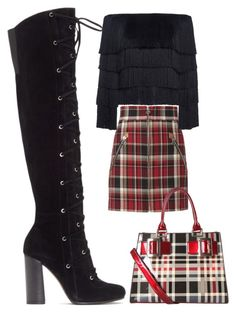 """""""Tall Boots"""" by giulia-ostara-re ❤ liked on Polyvore featuring Vince Camuto, rag & bone, A.L.C. and Diophy"""