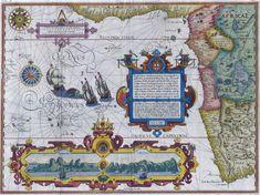 1596 South and West Africa - by Jan Huygen van Linschoten