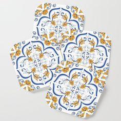 """Small, but mighty! Coasters are a bold way to bring creative designs into your space—without committing to a large art piece. Add them to your dining table, brighten up the living room and accessorize your next party.    - Comes in a set of 4   - Size: 3 1/2"""" x 3 1/2"""" x 1/4"""" (H)   - Lightweight, high density fiberboard wood   - High quality print with glossy satin finish"""