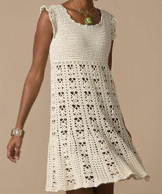 Risultati immagini per crochet dresses patterns