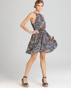 pretty multicolored dress