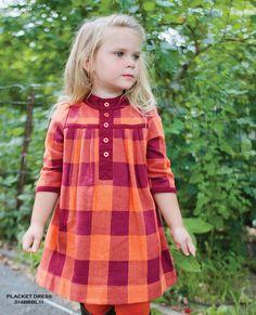 burnt orange and burgundy plaid pleated dress