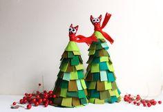 lieve, guitige kerstboompjes