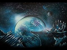 Spray Paint Art - Space Nature by: Trasher - YouTube