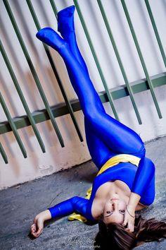 Tam - Hitomi Kisugi. Anime: Cat´s Eye. Cosplayer: Chris 'aka' Nuna Cosplay. From: France. Photo: Julien Rico 2012