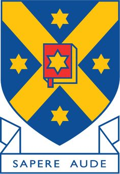 "University of Otago crest - ""Sapere aude"" meaning ""dare to be wise""."