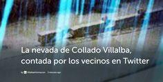 La nevada de Collado Villalba, contada por los vecinos en Twitter - villalbainformacion.com